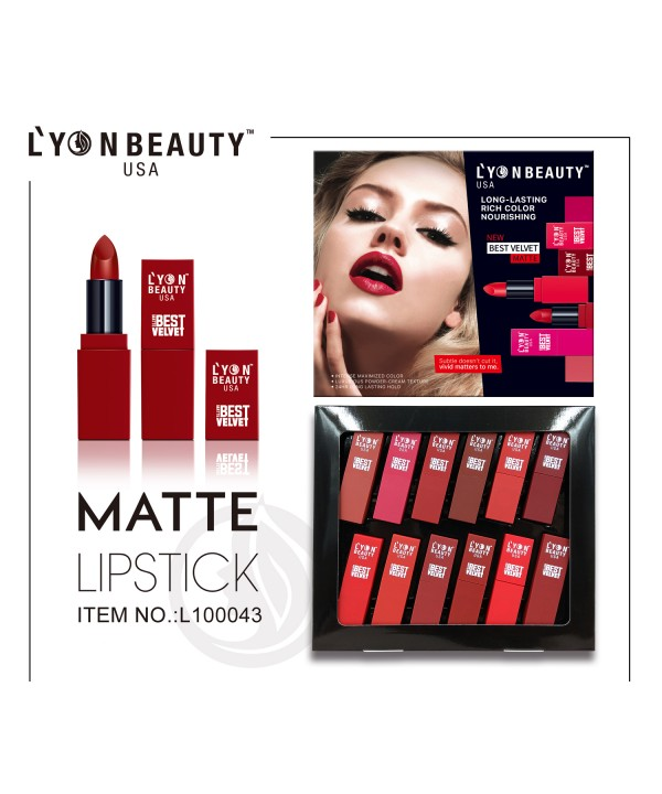 12 PCS COMBO SET LIPSTICK